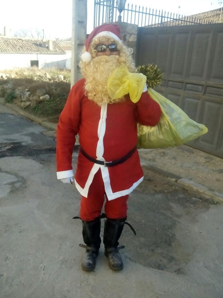 Papá Noel en Cerezo de Abajo