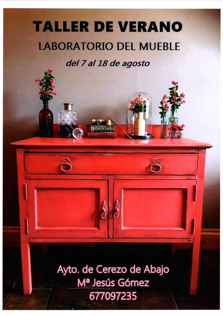 Taller de verano restauraci n de muebles ayuntamiento cerezo de abajo - Taller de restauracion de muebles ...